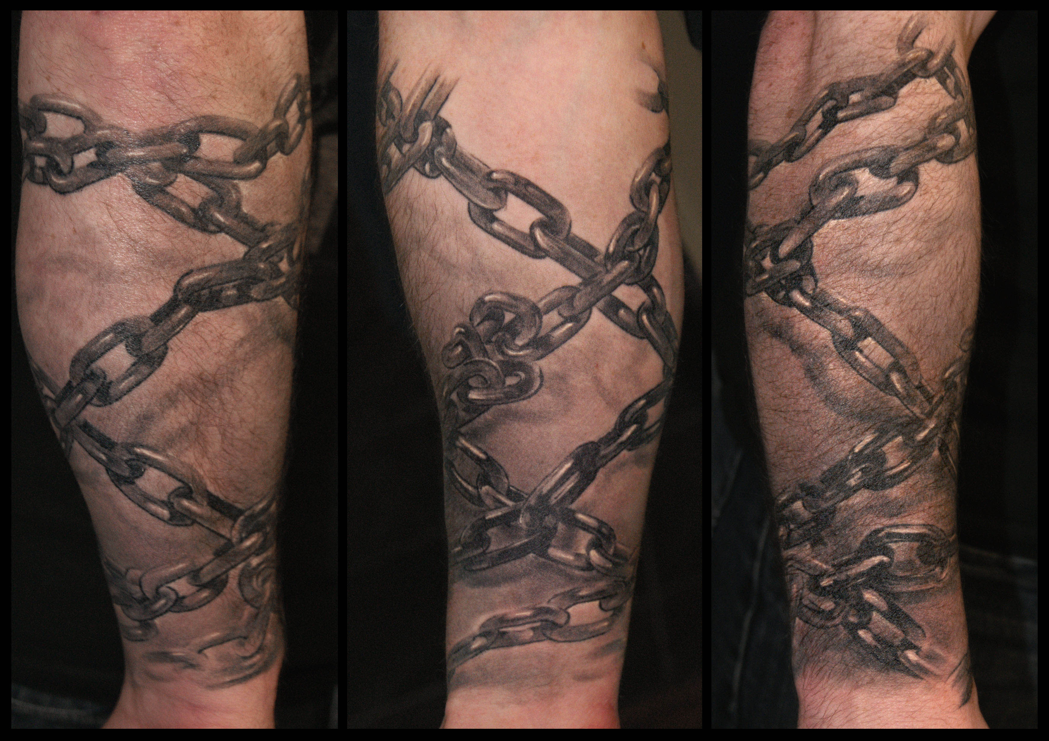 Chain Tattoo Images Designs in size 3508 X 2480