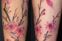 Cherry Blossom Tattoo On Arm For Women Off The Map Tattoo within size 1348 X 2096
