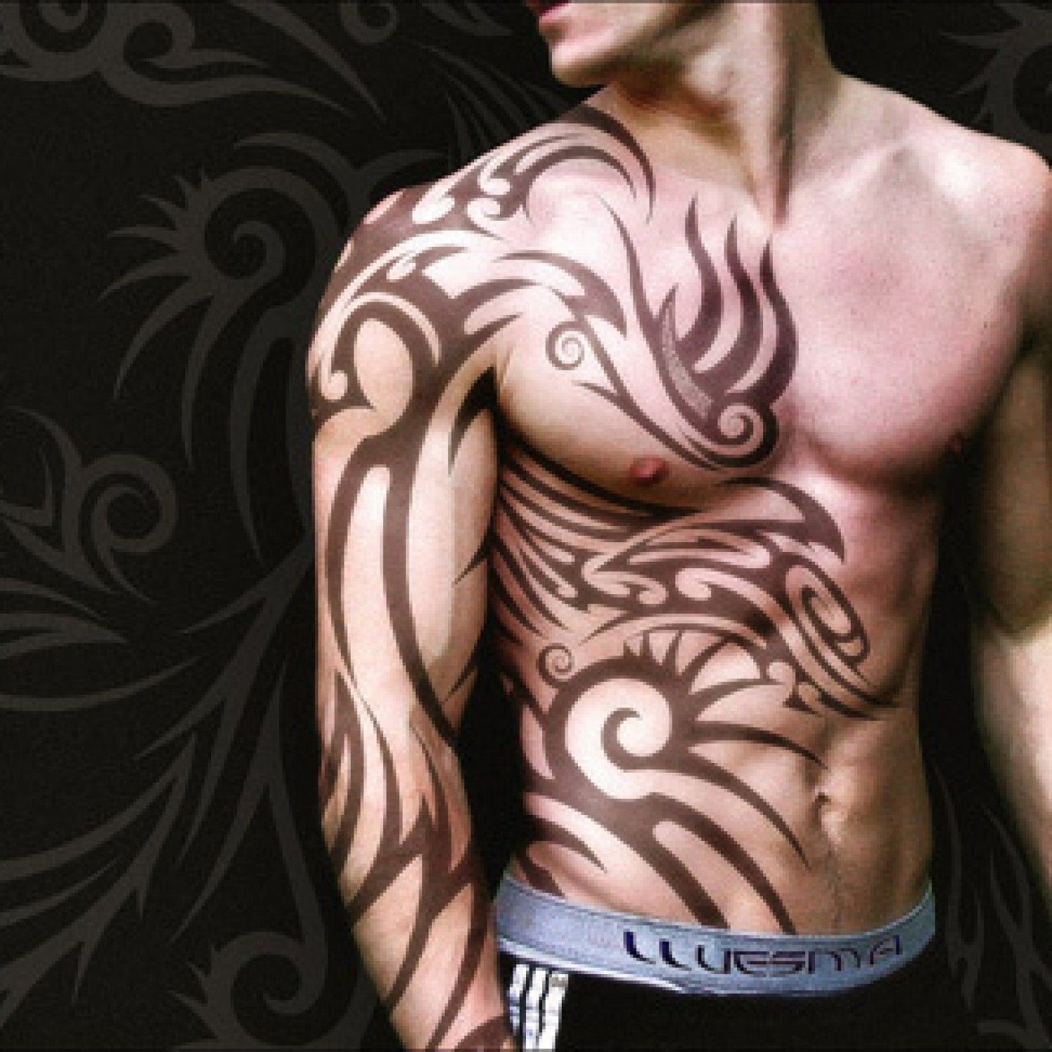 Chest And Arm Tattoo Designs Elegant 28 Insanely Cool Tribal Tattoos within dimensions 1500 X 1500