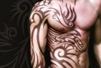 Chest Shoulder Arm Tattoo Designs Stunning 28 Insanely Cool Tribal regarding dimensions 1500 X 1500