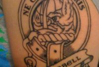 Clan Campbell Family Crest Tattoo Tempted To Get This Motto Too throughout proportions 768 X 1024