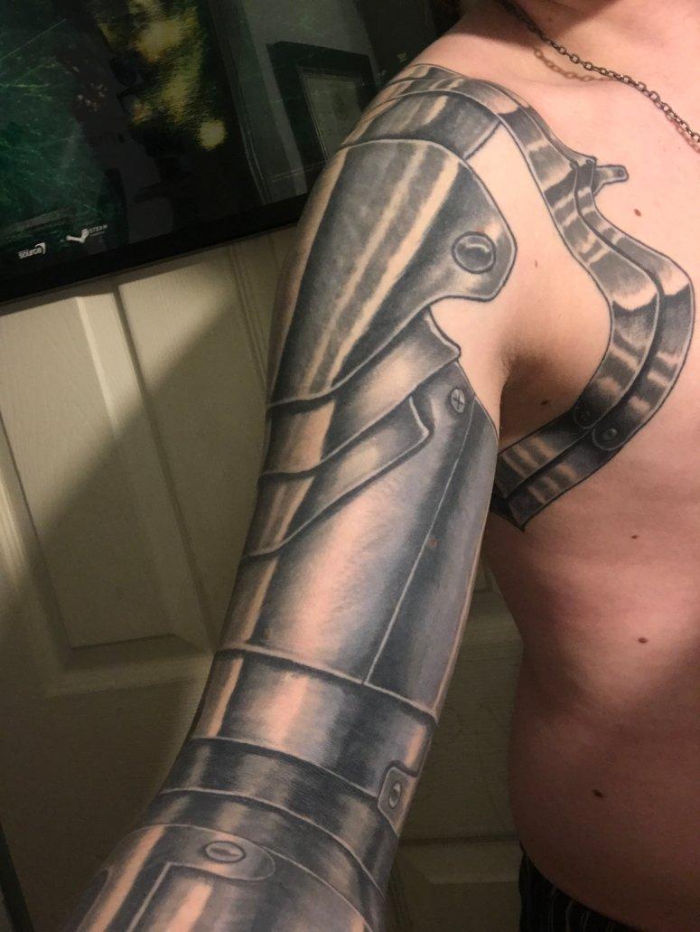 Fullmetal Alchemist Automail Arm Tattoo • Arm Tattoo Sites