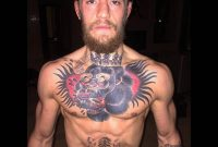 Conor Mcgregor Chest Tattoo Is Badass Tattoo Ideas Pinte with size 1000 X 1000