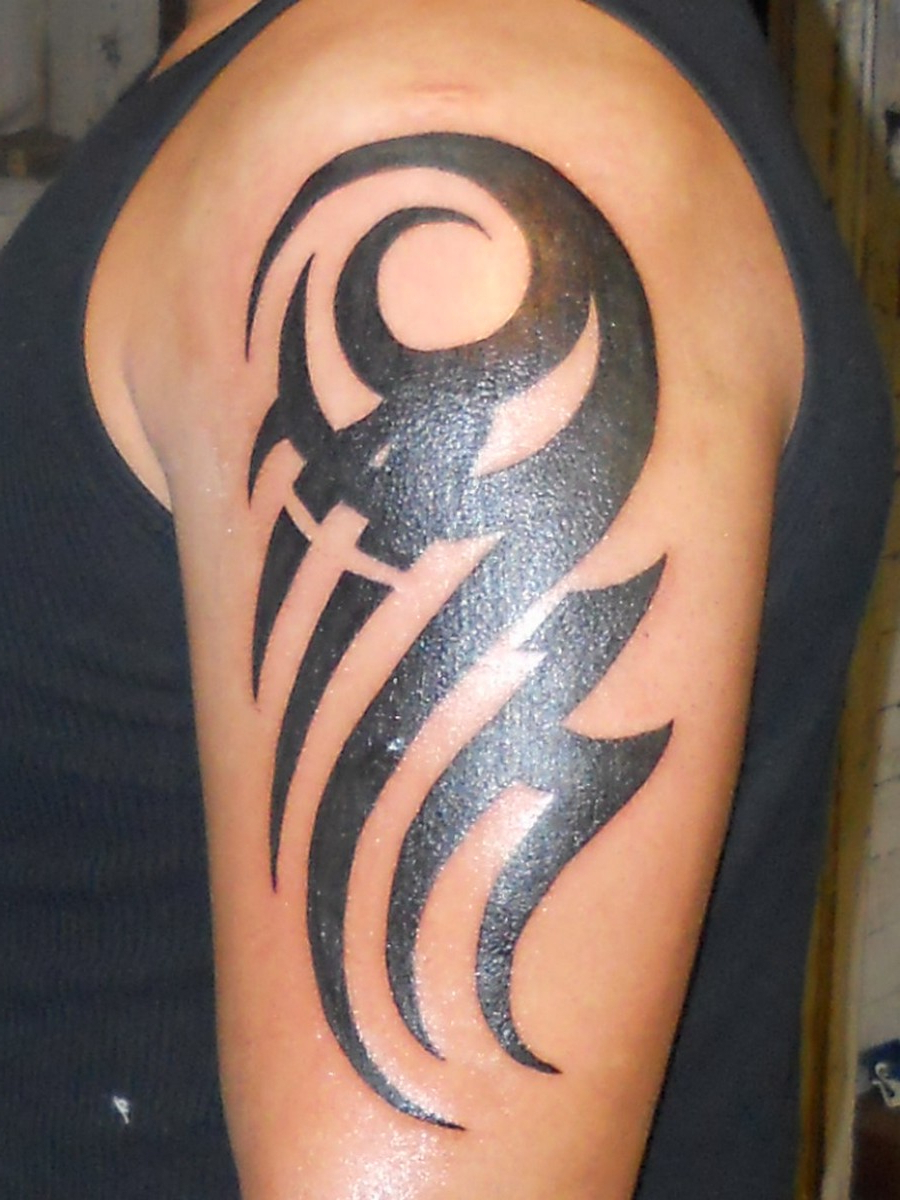Cool Arm Tribal Tattoos Cool Tribal Arm Tattoos Arm Tribal Tattoo intended for measurements 900 X 1200