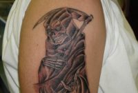 Cool Ghost Arm Tattoo Designs For Men Tattoomagz inside proportions 900 X 1199
