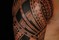 Cool Samoan Sleeve Tattoo With Unique Upper Style Tattoomagz with measurements 900 X 1349