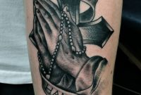 Cross Tattoos Cross With Rosary Tattoos Designs And Ideas for size 1500 X 2302