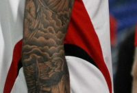 David Beckham And His Tattoos Tattoo throughout sizing 660 X 1216