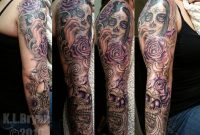 Day Of The Dead Sleeve Sitting 3 Danktat On Deviantart for measurements 1009 X 792