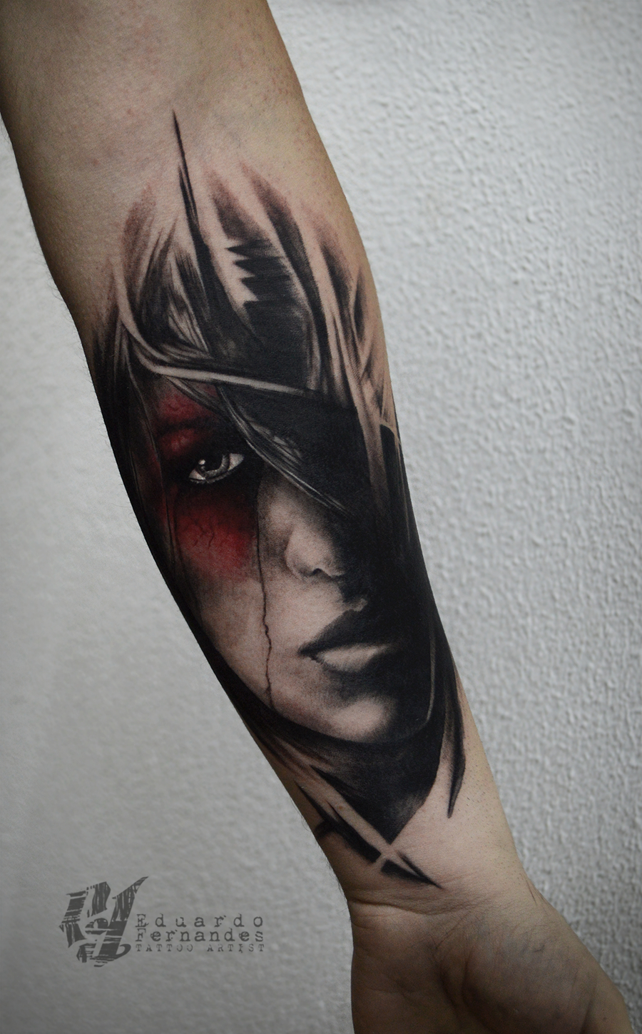 Download Free Girl Face Tattoo Tattoos Eduardo Fernandes To Use pertaining to size 900 X 1449