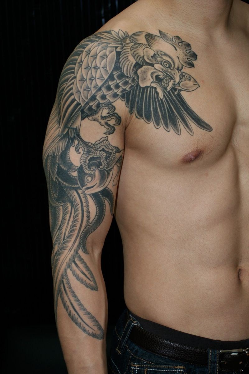 Eagle Wing Shoulder Tattoos Eagle Wings Tattoo Arm Wings Shoulder intended for size 800 X 1200