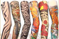 Fake Henna Tattoo Schne New Stretch Nylon Fake Tattoo Sleeves Arms with measurements 1000 X 1000