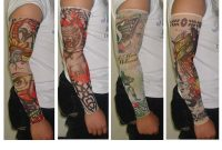 Fake Sleeve Tattoos within measurements 1024 X 768