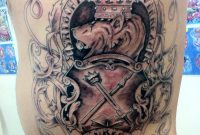 Family Coat Of Arms Tattoo Jayblum On Deviantart intended for sizing 772 X 1034