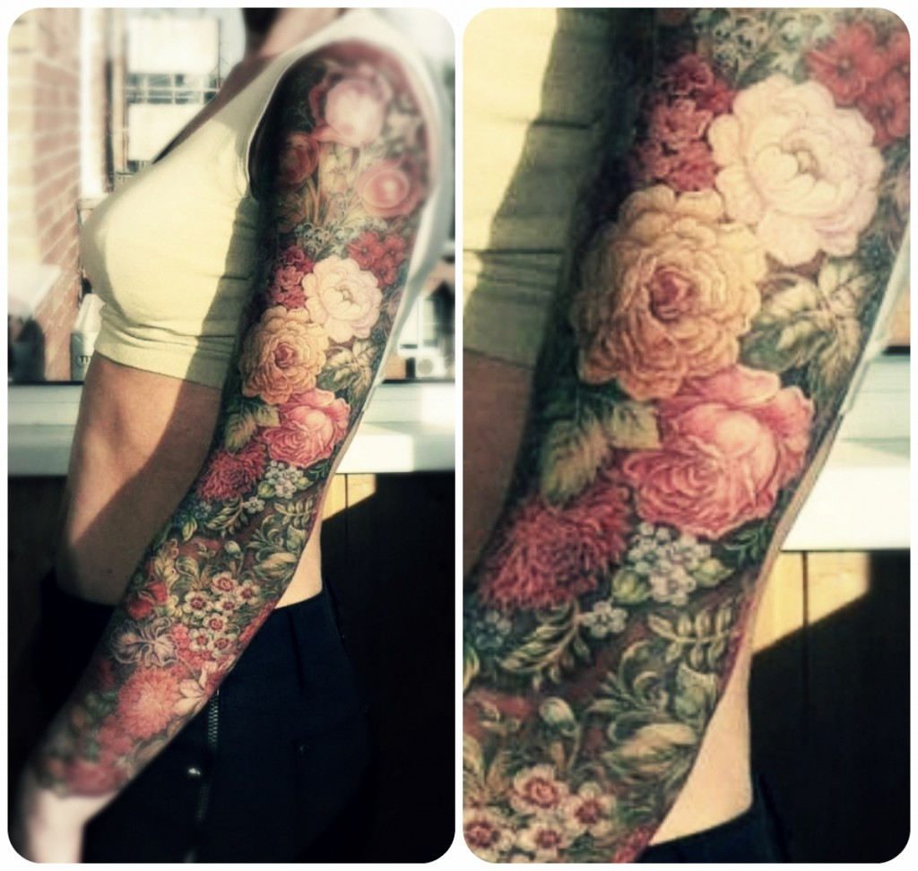 Fancy Floral Tattoo Best Tattoo Design Ideas in proportions 1024 X 972