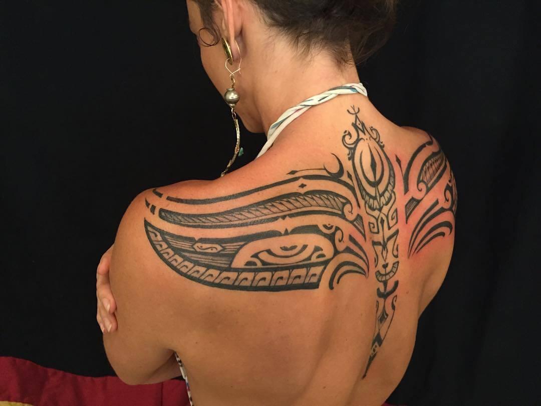 Female tribal tattoos
