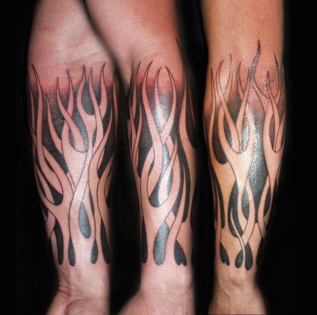 Flame Tattoos On Arm Flames From Arms Tattoos Tattoos with regard to measurements 1042 X 1038