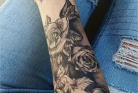 Full Arm Tattoo Vorlagen Wunderbar Black Rose Forearm Tattoo Ideas intended for size 1228 X 2048