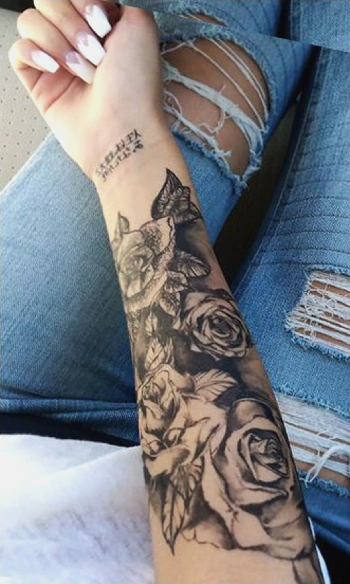 Full Arm Tattoo Vorlagen Wunderbar Black Rose Forearm Tattoo Ideas regarding dimensions 1228 X 2048