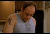 Gandolfini As Tony Soprano Men We Love And The Tattoos They Flaunt with regard to measurements 1280 X 800