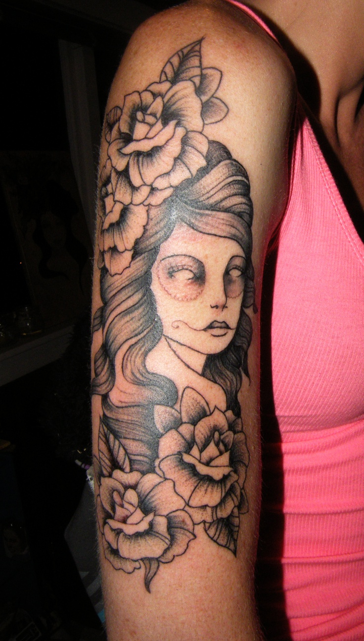 Girl Upper Arm Tattoos 1000 Ideas About Arm Tattoos Girls On throughout proportions 736 X 1293