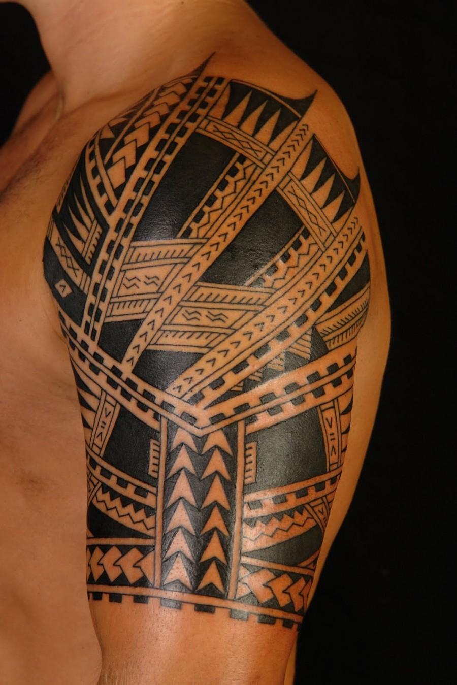 Good Shane Tattoos Half Sleeve On Upper Arm Tattoomagz throughout dimensions 900 X 1349