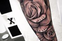 Grey Ink 3d Rose Tattoo On Arm regarding dimensions 960 X 960