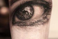 Grey Ink Realistic 3d Eye Tattoo On Arm inside sizing 960 X 960