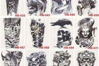 Grohandel 3d Wasserdichte Krper Arm Bein Art Tattoo Aufkleber in measurements 1000 X 1000