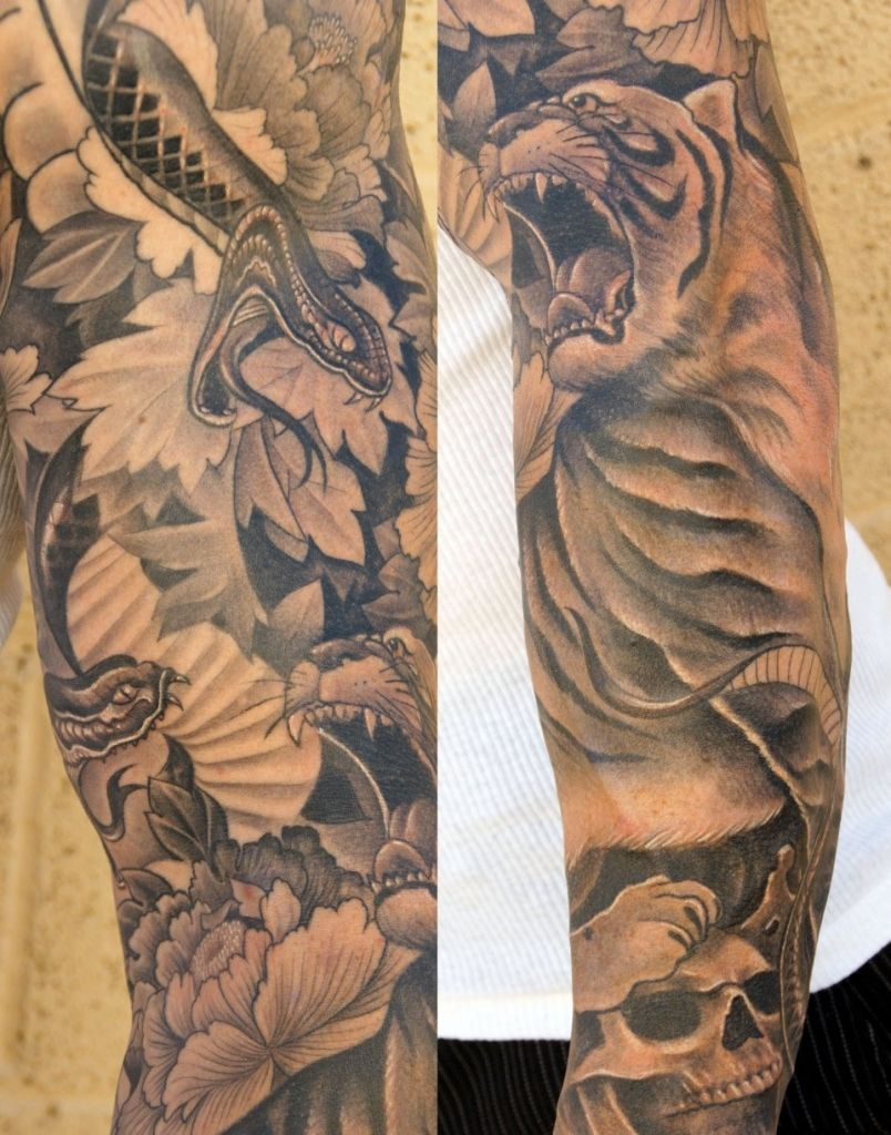 Half Arm Tattoos For Men Arm Tattoos For Men Sleeves Cool Tattoos in dimensions 804 X 1024