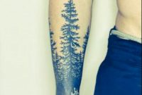 Half Sleeve Forest That I Want Wrapped Around Forearm Almost Half with sizing 1440 X 1440