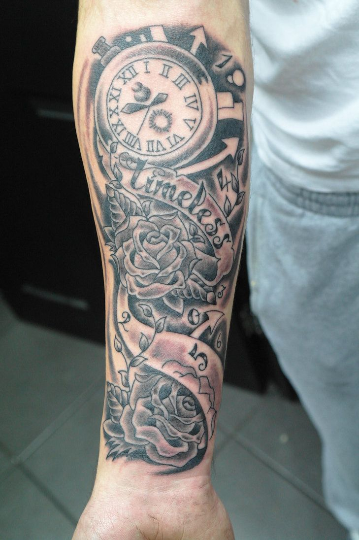 Half Sleeve Tattoos Forearm The Gallery For Half Sleeve Tattoos throughout measurements 729 X 1096