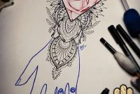 Hand Arm Rose Tattoo Idea Tattoo Design Rose Rose Drawing Lace pertaining to dimensions 1080 X 1350