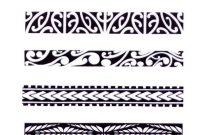Hawaiian Tribal Armband Tattoos 11631364 Tattoos for measurements 1163 X 1364