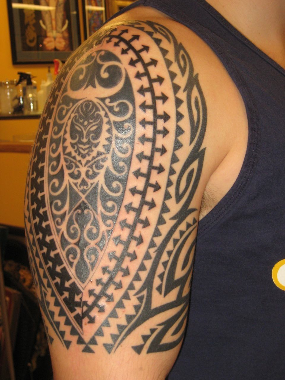 Hawaiian Tribal Tattoos Hawaiian Tribal Tattoo On Arm Tattoos in sizing 960 X 1280
