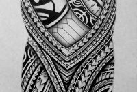 I Created A Polynesian Half Sleeve Tattoo Design For My Brother with regard to proportions 1240 X 1702