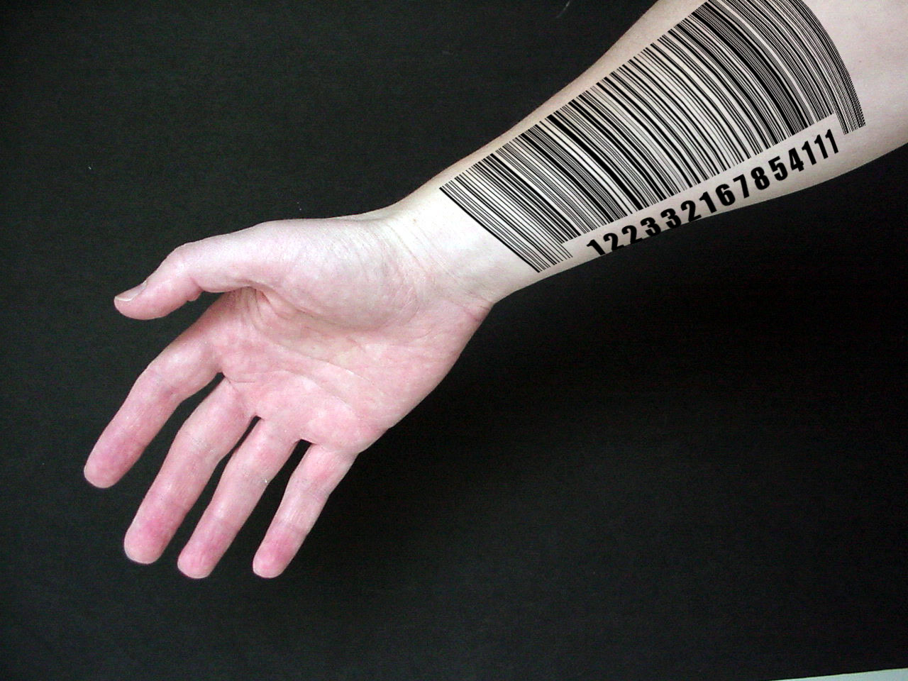 Images Of Barcode Tattoo Arm Spacehero regarding dimensions 1280 X 960