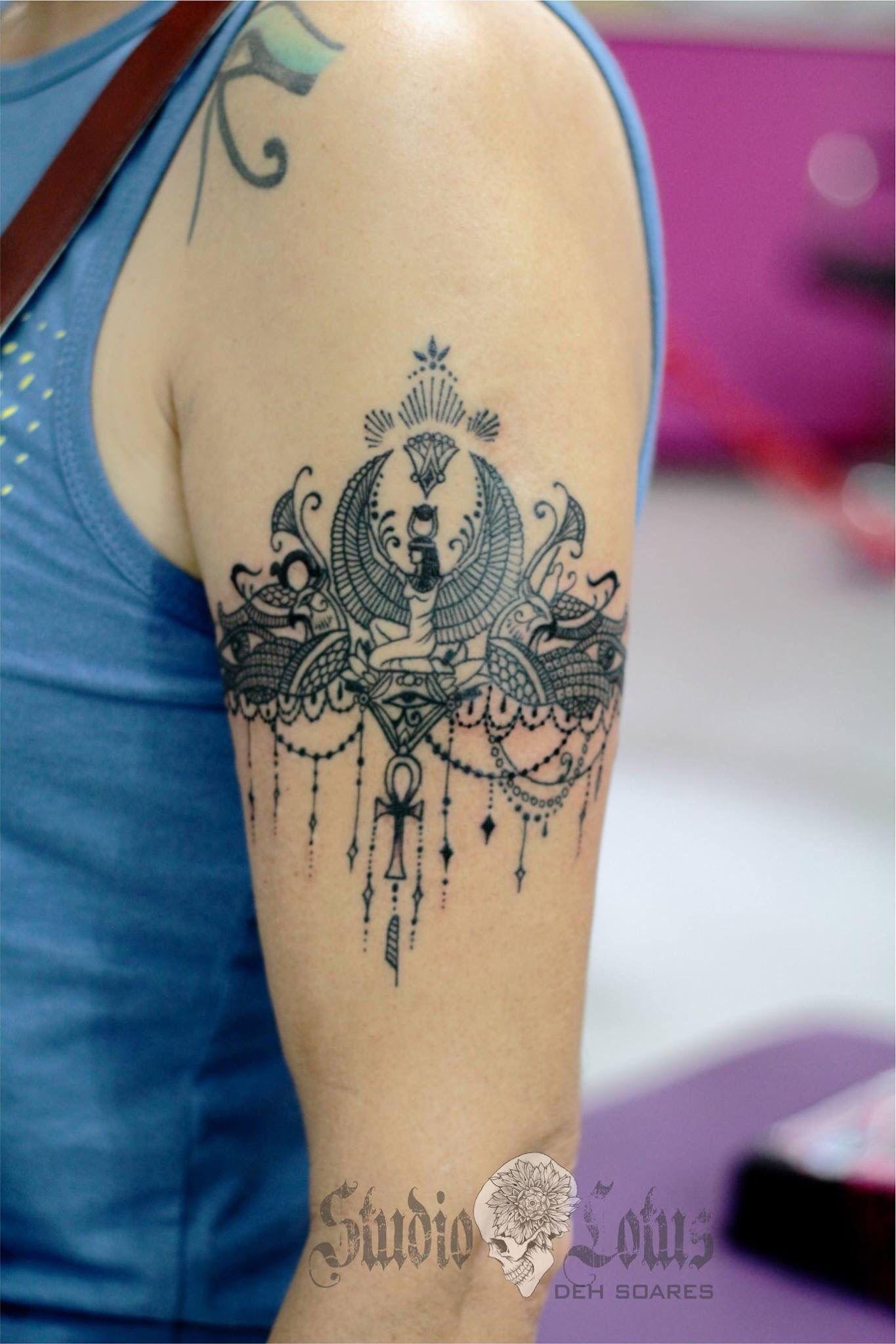 Egyptian Arm Bracelet Tattoo Arm Tattoo Sites