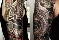 Japanese Dragon Half Sleeve Cover Up Tattoo Ass Tattoos within dimensions 1024 X 1024