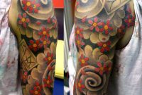 Japanese Quarter Sleeve Tattoo Design Httptattooideastrend intended for sizing 914 X 1131