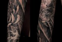 Japanese Tattoo Japanese Sleeve Black And Grey Japanese Tattoo intended for size 2366 X 3008