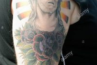 Jesus Tattoo Stock Photos Jesus Tattoo Stock Images Alamy with regard to size 870 X 1390