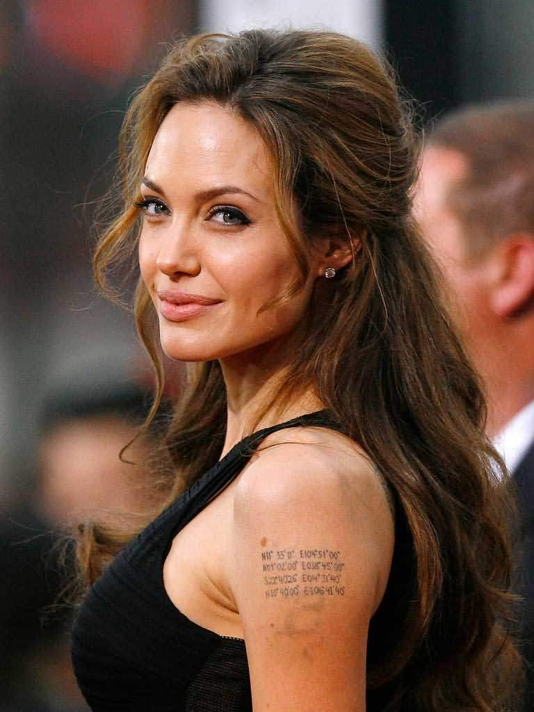 Jolie Pitt Kids Are Obsessed With Angelinas Tattoos Popstartats with regard to sizing 768 X 1024