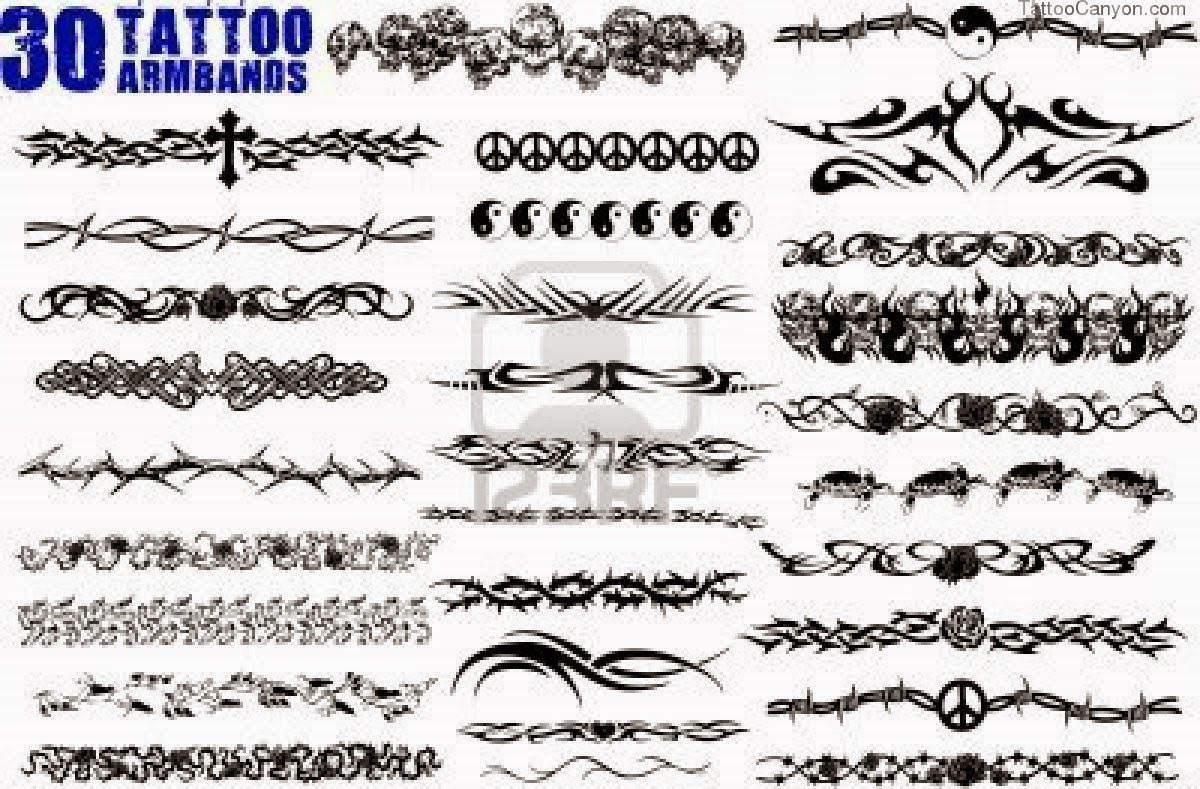 Latest Tribal Armband Tattoo Designs regarding dimensions 1200 X 789