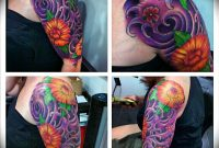 Lovely Flowers Halfsleevefreehanded With Sharpie Full Sleeve regarding measurements 1024 X 1024