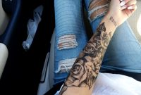 Lower Inner Arm Tattoos For Girls 43 Beautiful Forearm Rose Tattoos intended for measurements 1280 X 960