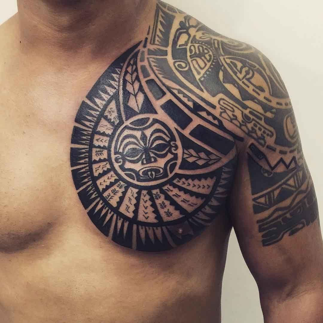 Maori Chest Chest Tattoo Designs Janser Maoritattoosmen throughout measurements 1080 X 1080