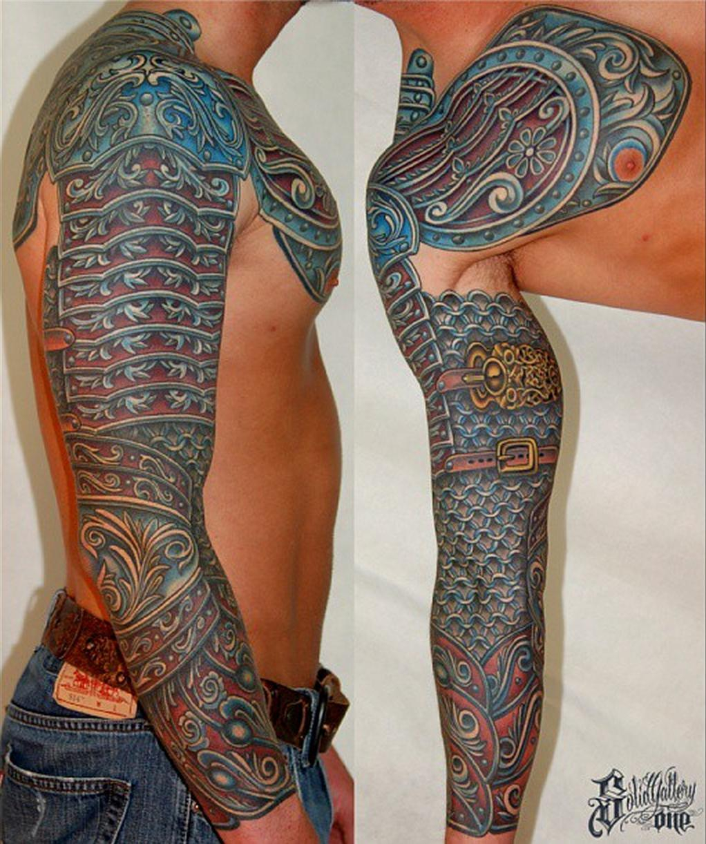 Mechanical Arm Tatoo Pics pertaining to measurements 1022 X 1222