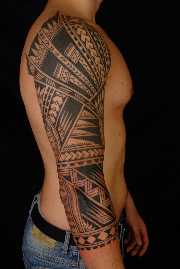 Men Tribal Arm Tattoos Tattoo Art Inspirations pertaining to size 736 X 1103