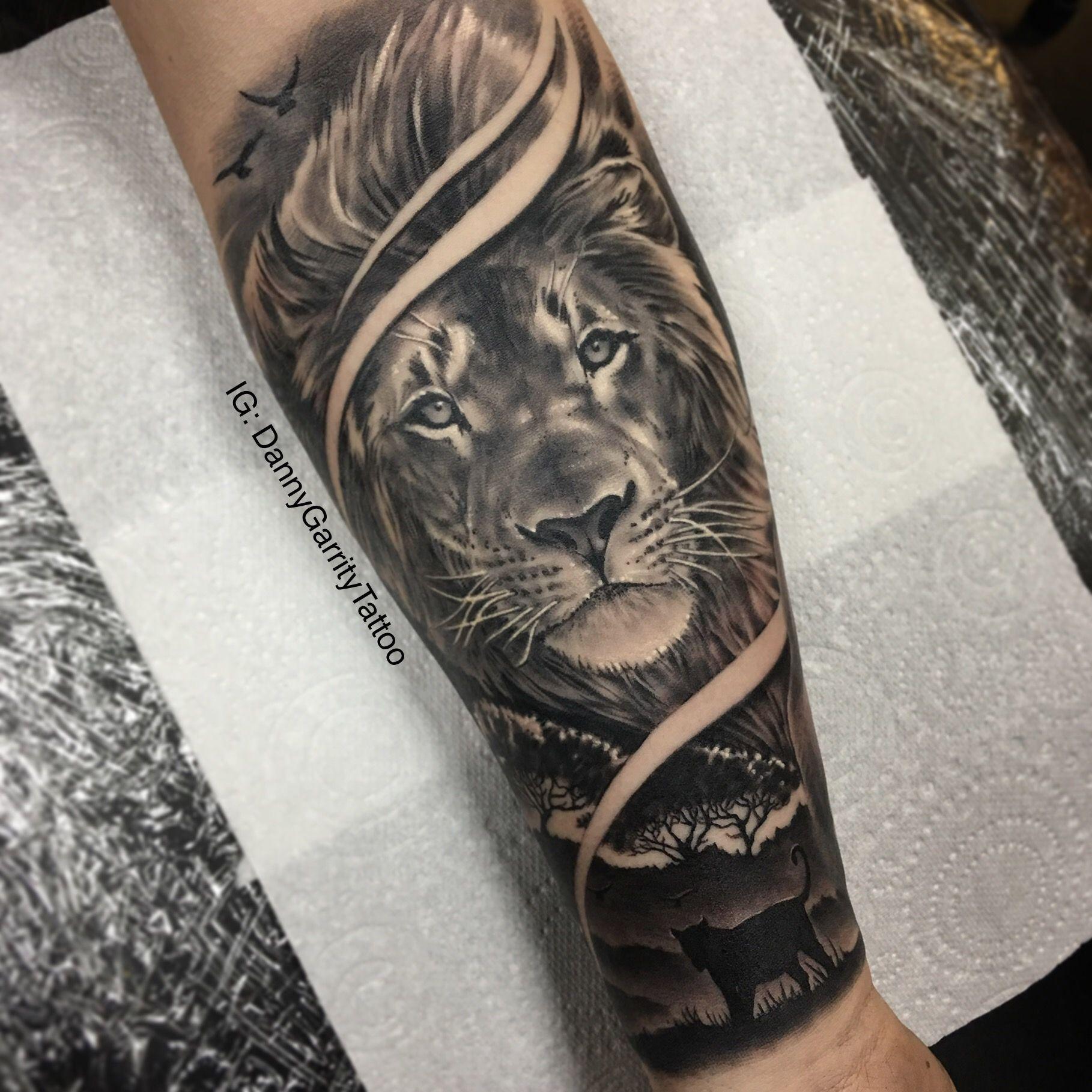 Mens Lion Arm Tattoos Arm Tattoo Sites
